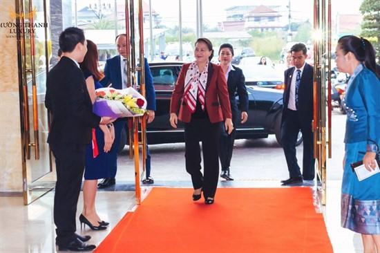 Mường Thanh Luxury Hà Nam đón Chủ tịch Quốc hội Nguyễn Thị Kim Ngân