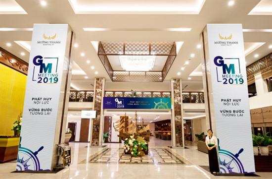 Lịch trình sự kiện GM Meeting 2019: Phát huy nội lực – Vững bước tương lai