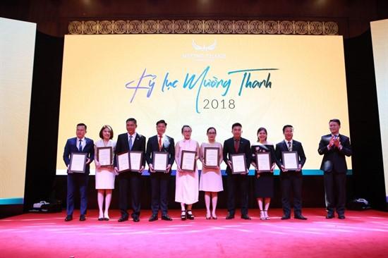 Mường Thanh Luxury Đà Nẵng bội thu giải thưởng tại GM Meeting 2019