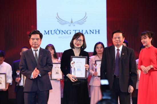 Mường Thanh nhận giải Top 10 Thương hiệu Việt Nam uy tín – chất lượng năm 2018