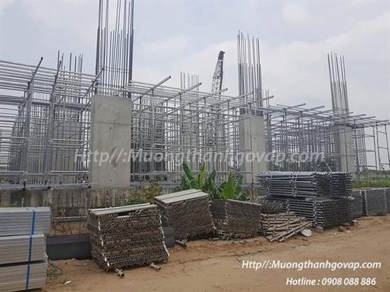 Tiến độ xây dựng Mường Thanh Gò Vấp ngày 8-4-2019