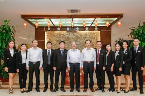 Mường Thanh Thanh Hóa đón đoàn đại biểu cấp cao dự 'Lễ Kỷ niệm 990 năm Thanh Hóa'